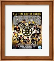 Boston Bruins All-Time Greats Composite Fine-Art Print