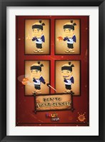 Fruit Ninja - Sensei Wall Poster