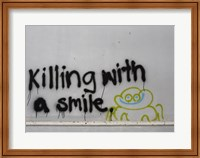 Killing With a Smile - Singapore Fine-Art Print