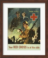 Your Red Cross is at His Side Fine-Art Print
