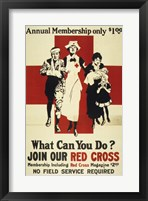 Join Our Red Cross Annual Membership Fine-Art Print