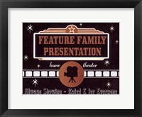 Feature Presentation Fine-Art Print