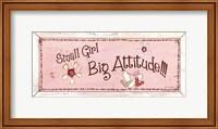 Big Attitude Fine-Art Print