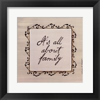 About Family Fine-Art Print