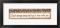 Always Keep Falling Fine-Art Print