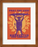 Pray For Surf Fine-Art Print