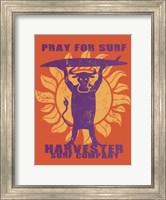 Pray For Surf Fine-Art Print