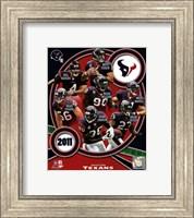 Houston Texans 2011 Team Composite Fine-Art Print