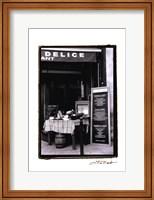 Cafe Charm, Paris IV Fine-Art Print