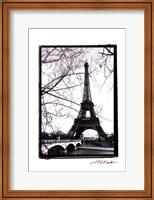 Eiffel Tower Along the Seine River Fine-Art Print
