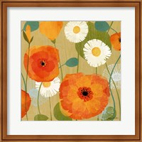 Daisies and Poppies I Fine-Art Print