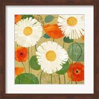 Daisies and Poppies II Fine-Art Print