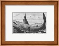 Basking Shark Harper's Weekly October 24, 1868 Fine-Art Print