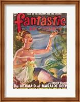 Fantastic Adventures 1949 March Cover Fine-Art Print