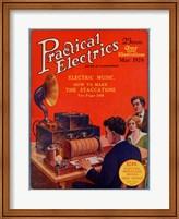 Practical Electrics March 1924 Cover Fine-Art Print