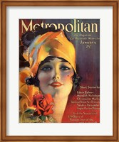 Rolf Armstrong Metropolitan Jan 1919 Fine-Art Print