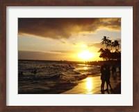 Waikiki Beach at Sunset Fine-Art Print