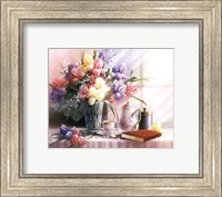Teapot and Iris Fine-Art Print