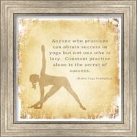 Constant Practice is the Secret of Success Fine-Art Print