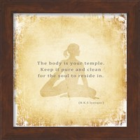 The Body is Your Temple Fine-Art Print