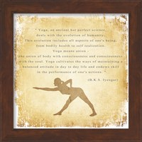 Yoga is a Perfect Science Fine-Art Print