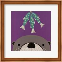 Peek-a-Boo Otter Fine-Art Print