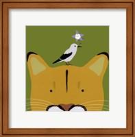 Peek-a-Boo Puma Fine-Art Print