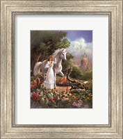 Maiden and Dragon Fine-Art Print