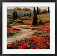 Hills In Bloom II Fine-Art Print