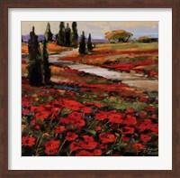 Hills In Bloom I Fine-Art Print