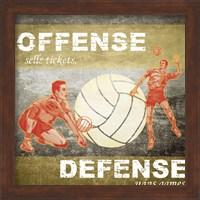 Offense, Defense Fine-Art Print
