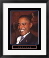 Obama - Believe Fine-Art Print