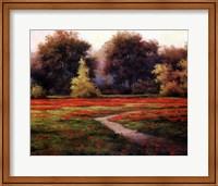 Autumn Poppies I Fine-Art Print