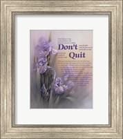 Don't Quit Fine-Art Print