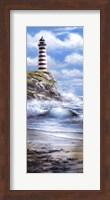Red Lighthouse Fine-Art Print