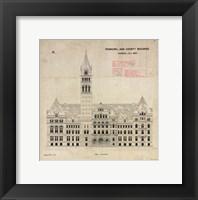 Municipal and County Buildings Toronto July 1887 Fine-Art Print