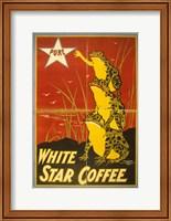 White Star Coffee Frogs Fine-Art Print