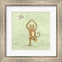 Yoga Cat III Fine-Art Print