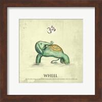 Elephant Yoga, Wheel Pose Fine-Art Print