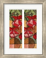 2-Up Stain Glass Floral II Fine-Art Print