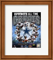 Dallas Cowboys All Time Greats Composite Fine-Art Print