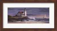 Lighthouse at Dusk Fine-Art Print