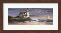 Lighthouse - Dusk  (verse) Fine-Art Print