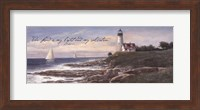 Lighthouse - Dawn (verse) Fine-Art Print
