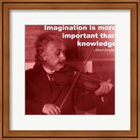Einstein Imagination Quote Fine-Art Print