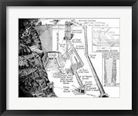 Hoover Dam Diagram Fine-Art Print