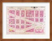 1909 map of Downtown Washington, D.C. Fine-Art Print