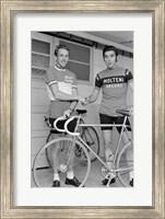 Joop Zoetemelk and Eddy Merckx 1973 Fine-Art Print
