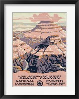 Grand Canyon National Park, a free government service Fine-Art Print