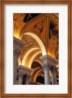 Interiors of a library, Library Of Congress, Washington DC, USA Fine-Art Print